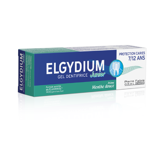 ELGYDIUM JUNIOR MILD MINT СЛАДКА МЕНТА 7-12год 50мл